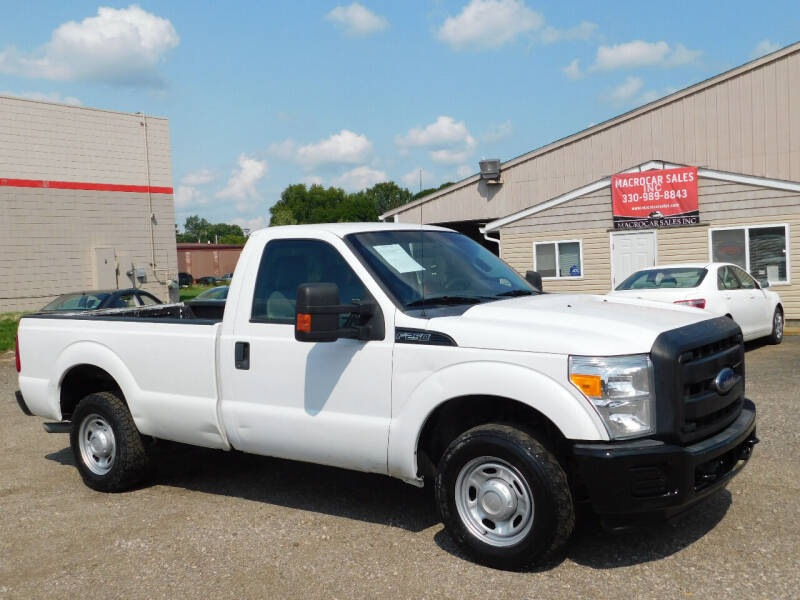 2012 Ford F-250 Super Duty for sale at Macrocar Sales Inc in Akron OH