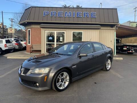 2008 Pontiac G8 for sale at Premiere Auto Sales in Washington PA