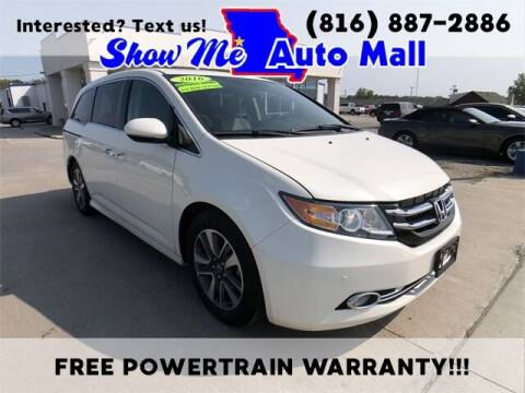 2016 Honda Odyssey for sale at Show Me Auto Mall in Harrisonville MO