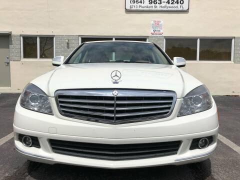 2008 Mercedes-Benz C-Class for sale at Eden Cars Inc in Hollywood FL