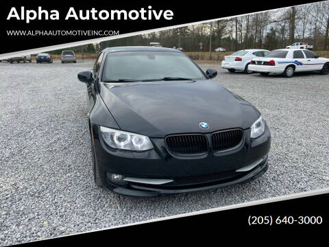 2013 BMW 3 Series for sale at Alpha Automotive in Odenville AL