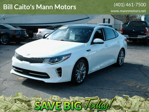 2017 Kia Optima for sale at Bill Caito's Mann Motors in Warwick RI
