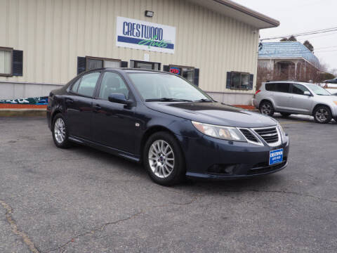 2008 Saab 9-3 for sale at Crestwood Auto Sales in Swansea MA