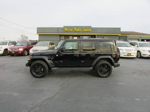 2020 Jeep Wrangler Unlimited for sale at MIRA AUTO SALES in Cincinnati OH