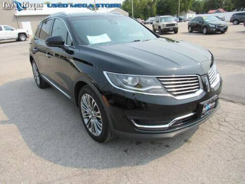 2016 Lincoln MKX for sale at TWIN RIVERS CHRYSLER JEEP DODGE RAM in Beatrice NE