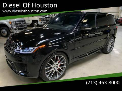 2018 Land Rover Range Rover Sport for sale at Diesel Of Houston in Houston TX