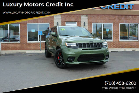 2021 Jeep Grand Cherokee for sale at Luxury Motors Credit Inc in Bridgeview IL