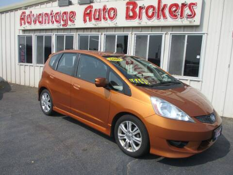 2009 Honda Fit for sale at Advantage Auto Brokers Inc in Greeley CO