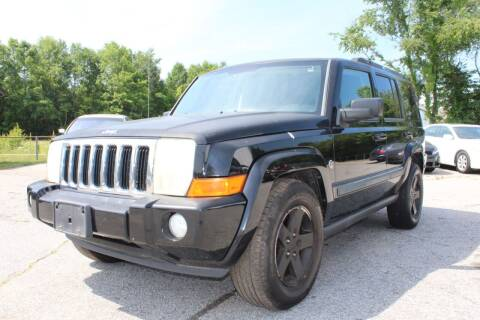 2008 Jeep Commander for sale at UpCountry Motors in Taylors SC