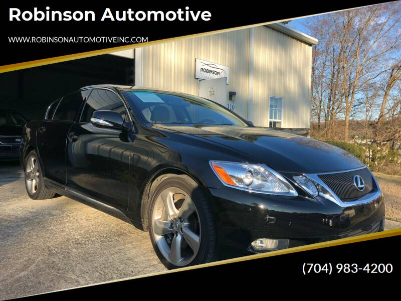 2008 Lexus GS 460 for sale at Robinson Automotive in Albemarle NC