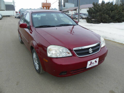2005 Suzuki Forenza for sale at J & S Auto Sales in Thompson ND