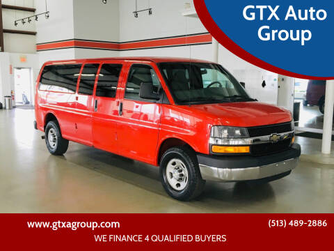 2013 Chevrolet Express Passenger for sale at GTX Auto Group in West Chester OH