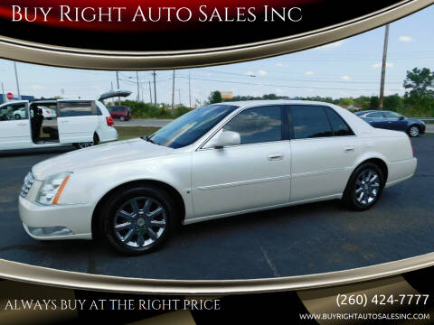 2008 Cadillac DTS for sale at Buy Right Auto Sales Inc in Fort Wayne IN