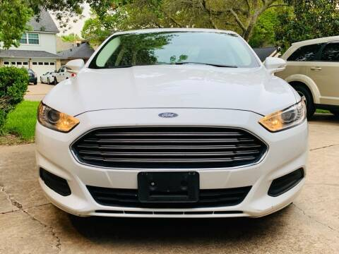 2015 Ford Fusion for sale at Demetry Automotive in Houston TX