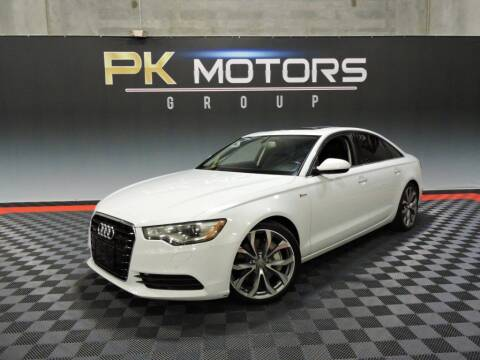 2013 Audi A6 for sale at PK MOTORS GROUP in Las Vegas NV