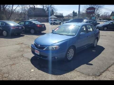 2008 Subaru Impreza for sale at Colonial Motors in Mine Hill NJ