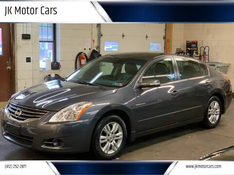 2012 Nissan Altima for sale at JK Motor Cars in Pittsburgh PA