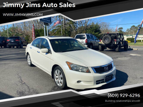 2010 Honda Accord for sale at Jimmy Jims Auto Sales in Tabernacle NJ