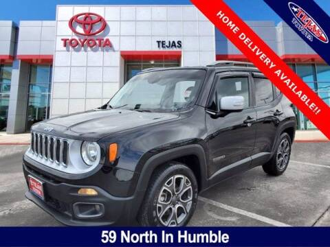 2017 Jeep Renegade for sale at TEJAS TOYOTA in Humble TX
