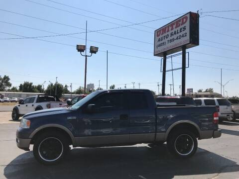 2005 Ford F-150 for sale at United Auto Sales in Oklahoma City OK