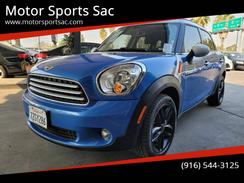 2014 MINI Countryman for sale at Motor Sports Sac in Sacramento CA