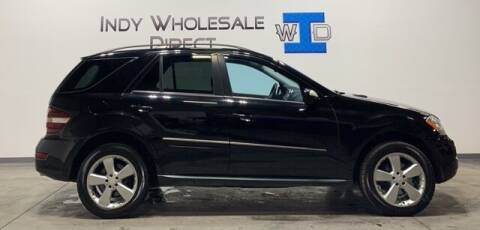 2009 Mercedes-Benz M-Class for sale at Indy Wholesale Direct in Carmel IN