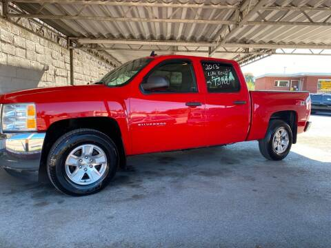 2013 Chevrolet Silverado 1500 for sale at Lewis Used Cars in Elizabethton TN