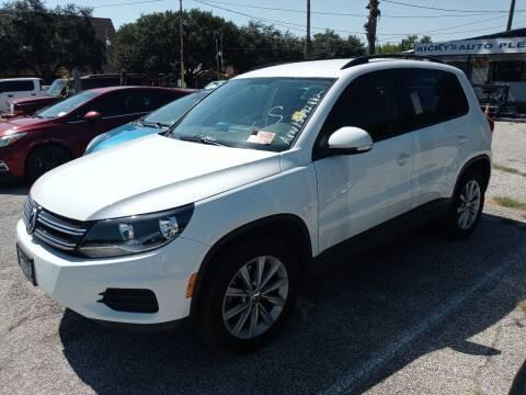 2015 Volkswagen Tiguan for sale at RICKY'S AUTOPLEX in San Antonio TX