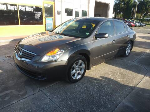 2007 Nissan Altima for sale at QUALITY AUTO SALES OF FLORIDA in New Port Richey FL