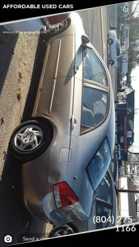 2007 Kia Spectra for sale at AFFORDABLE USED CARS in Richmond VA