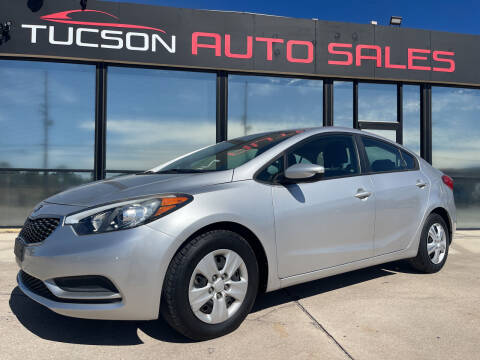 2014 Kia Forte for sale at Tucson Auto Sales in Tucson AZ