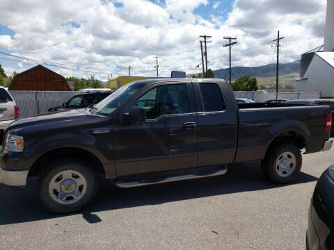 2005 Ford F-150 for sale at Creekside Auto Sales in Pocatello ID