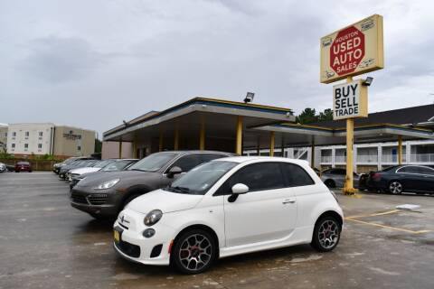 2013 FIAT 500 for sale at Houston Used Auto Sales in Houston TX