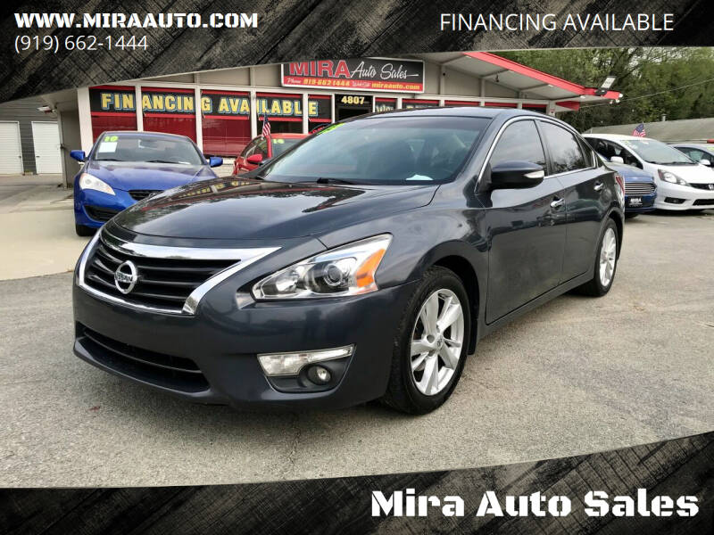 2013 Nissan Altima for sale at Mira Auto Sales in Raleigh NC