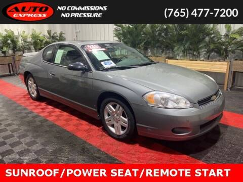 2007 Chevrolet Monte Carlo for sale at Auto Express in Lafayette IN