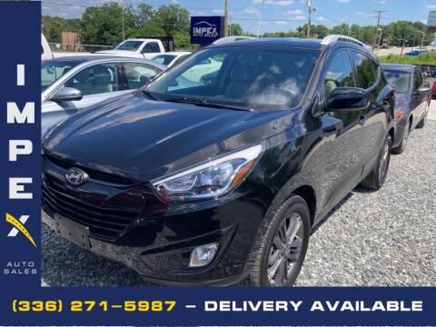 2014 Hyundai Tucson for sale at Impex Auto Sales in Greensboro NC