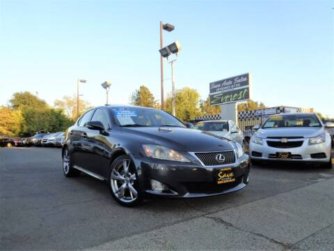 2010 Lexus IS 250 for sale at Save Auto Sales in Sacramento CA