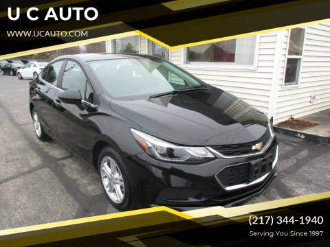 2018 Chevrolet Cruze for sale at U C AUTO in Urbana IL
