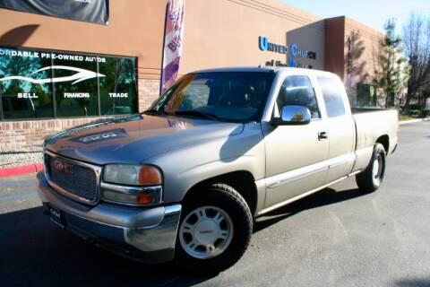 2001 GMC Sierra 1500 for sale at CK Motors in Murrieta CA