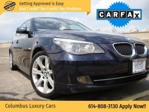 2008 BMW 5 Series for sale at Columbus Luxury Cars in Columbus OH