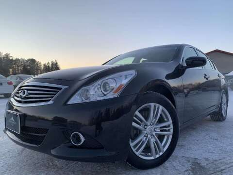 2012 Infiniti G37 Sedan for sale at LUXURY IMPORTS in Hermantown MN