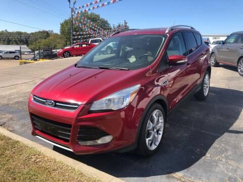 2015 Ford Escape for sale at Greg's Auto Sales in Poplar Bluff MO