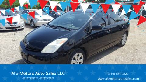 2005 Toyota Prius for sale at Al's Motors Auto Sales LLC in San Antonio TX