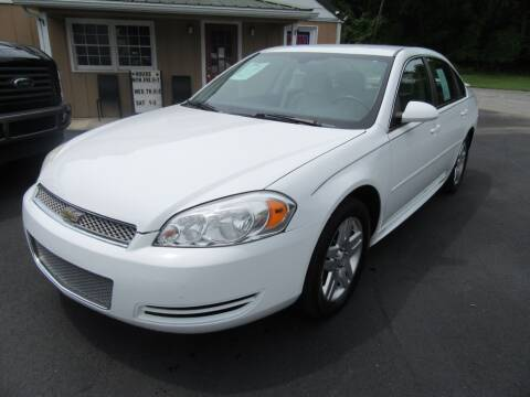 2012 Chevrolet Impala for sale at Honest Gabe Auto Sales in Carlisle PA