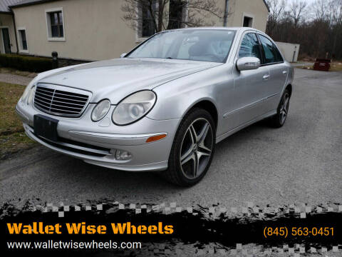 2004 Mercedes-Benz E-Class for sale at Wallet Wise Wheels in Montgomery NY