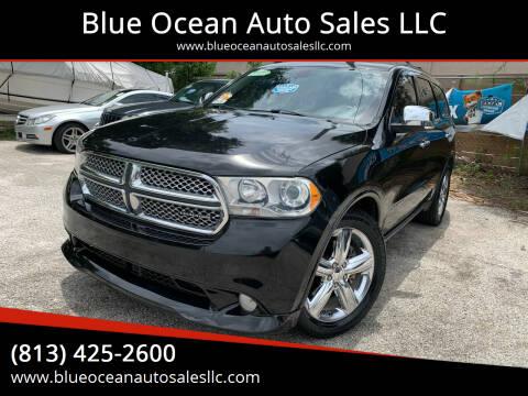 2011 Dodge Durango for sale at Blue Ocean Auto Sales LLC in Tampa FL