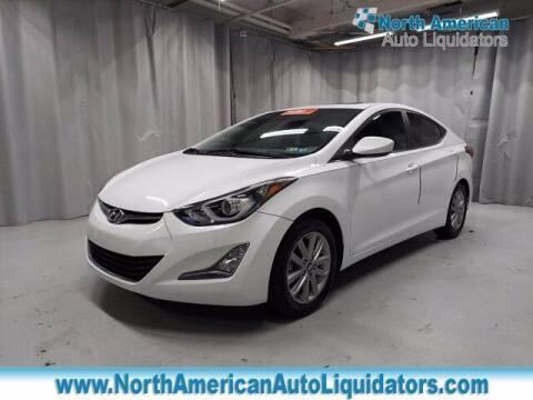 2015 Hyundai Elantra for sale at North American Auto Liquidators in Essington PA