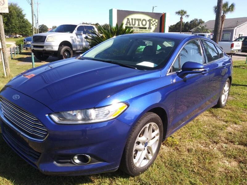 2013 Ford Fusion for sale at Auto 1 Madison in Madison GA