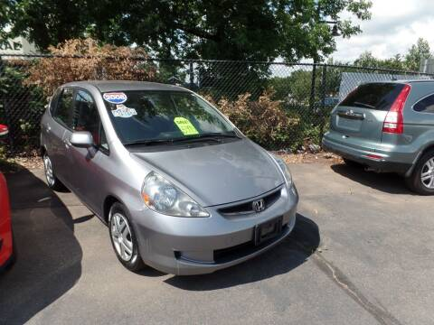 2008 Honda Fit for sale at CAR CORNER RETAIL SALES in Manchester CT
