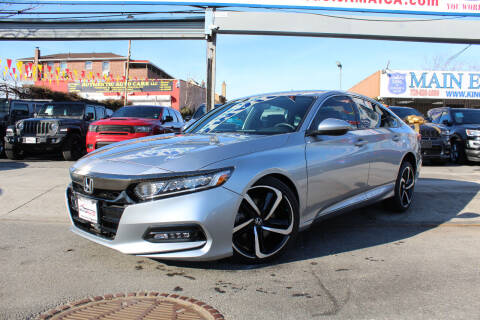 2019 Honda Accord for sale at MIKEY AUTO INC in Hollis NY